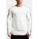 Men's Cool Glove Long Sleeve Colorblock Sport Fitted T-Shirt