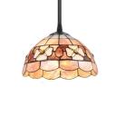 3-Light Pendant Light with Tiffany Baroque Style 8