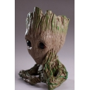 Stylish Lovely Comic Groot Shaped Office Ornament Flower Pot