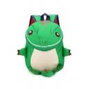 21*9*29cm Cute Cartoon Dinosaur Shaped Stylish School Bag for Kids