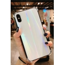 Cool Laser Shining Toughened Glass Shatter-Resistant iPhone Case