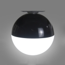 Round LED Vanity Light USB Powered Touch Control Mirror Light with Suction Cup for Bedroom