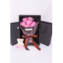 Fancy Artificial Seven-Flower Fashion Bouquet for Valentine's Day Gift