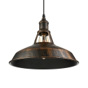 11'' Wide Antique Copper 1 Light Indoor Industrial LED Pendant Lighting Fixture