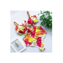 Summer New Trendy Fashion Printed Bow-Tied Front Overall Bikini Swimwear