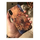 Popular Van Gogh Oil Painting Withered Sunflower Print Polish Hard Mobile Phone Case