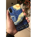 Galaxy Oil Painting Printed Polish Hard Mobile Phone Case