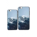 Fashion Wolf Letter WINTER IS COMING Light Blue iPhone Case