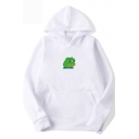 Pepe the Frog Sad Face Basic Unisex Long Sleeve Pullover Hoodie