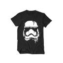 Star Wars Darth Vader Printed Basic Short Sleeve Summer Cotton T-Shirt