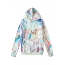 Cool Street Fashion Colorful Tie Dye Long Sleeve Unisex Oversize Drawstring Hoodie