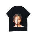 Street Style Creative Double-Face Boy Casual Oversized T-Shirt