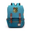 Popular Harry Potter Hogwarts University Badge Printed Students School Bag Backpack