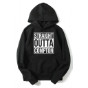 Hip Hop Group STRAIGHT OUTTA COMPTON Popular Album Street Style Casual Long Sleeve Pullover Hoodie