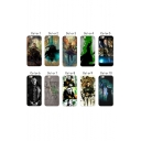 Trendy Loki Series Printed Hard Soft Mobile Phone Case for iPhone