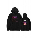 ARMY Kpop DNA Casual Loose Long Sleeve Unisex Sport Pullover Hoodie