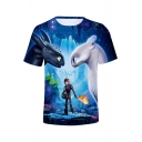 How to Train Your Dragon Popular Film 3D Figure Printed Unisex Short Sleeve T-Shirt
