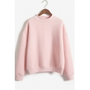 Harajuku Pastel Peach Pink Hoodies Sweatshirts for Women