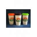 Friends TV Shows Series Central Perk Double-Layer Ceramic Cup 401-500ml