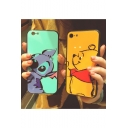 Cartoon Stitch Winnie the Pooh Print Stylish Mobile Phone Case
