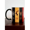 Game of Thrones Fashion Family Badge Printed Discolored Coffee Cup Mug Cup