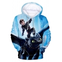 How to Train Your Dragon Awesome Cool Comic Character Printed Unisex Pullover Hoodie