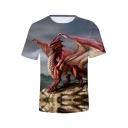 Cool 3D Printed Unisex Short Sleeve T-Shirt