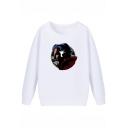 Doctor Strange Comic Figure Printed Long Sleeve Pullover Casual Sweatshirt