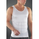 Men's body sculpting Body Shaper Belly Buster Compression Tank Top