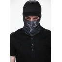 Watch Dogs Game Aiden Pearce Warmer Scarf Cosplay Costume Black Face Mask