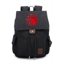 Game of Thrones Dragon Logo Print Students School Bag Backpack 30*16*36cm