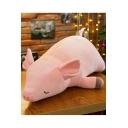 Plush Sleeping Pig Doll Toy Super Soft Stuffed Piggy Pet Pillows for Room Decoration Pink 80cm