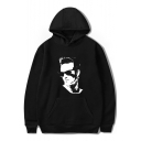 Beverly Hills 90210 Luke Perry Figure Pattern Loose Fit Pullover Unisex Hoodie