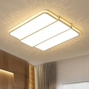 White Super-thin Ceiling Lamp Nordic Style Acrylic LED Flush Mount Light for Sitting Room with Crystal