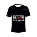 Boy Band 3D Figure Printed Short Sleeve Unisex Summer Basic T-Shirt