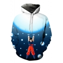 Fashion 3D Comic Character Printed Long Sleeve Sport Casual Hoodie
