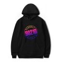Beverly Hills 90210 Cool Unique Letter Pattern Sport Loose Unisex Hoodie