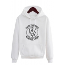 Game of Thrones Valar Morghulis Letter Print Pullover Casual Unisex Hoodie