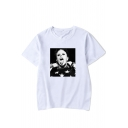 4Keith Flint Cool Figure Printed Short Sleeve Unisex Loose T-Shirt