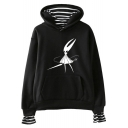Hollow Knight Funny Game Character Pattern Long Sleeve Pullover Hoodie