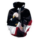 American Eagle Flag 3D Printed Unisex Relaxed Fit Hoodie