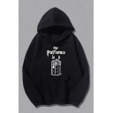 Doctor Who Cool Letter MY PATRONUS Graphic Printed Long Sleeve Pullover Hoodie