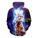 Dragon Ball Cool 3D Comic Character Printed Long Sleeve Pullover Sport Casual Hoodie