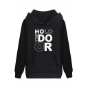 Game of Thrones Cool Unique Letter HOLD THE DOOR Print Regular Fit Hoodie