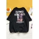 Summer Street Cool Letter BETTER NEW IDEA Loose Relaxed T-Shirt