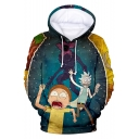Rick and Morty Funny Comic Character 3D Print Casual Sport Pullover Hoodie