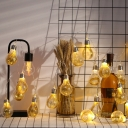 Patio String Lights Industrial Style 7/13/16/20Ft Hanging Light with Bare Bulb Design