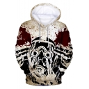 New Stylish Funny Comic Character Printed Long Sleeve Sport Loose Hoodie