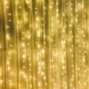 Decorative 300 Lights Fairy Lights Pack of 2 10ft Waterproof LED String Lights for Yard Garden