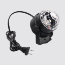 1 Pack Waterproof LED Disco Ball with Remote Control 7 Color Sound Activated Strobe Lamp for Dance Parties